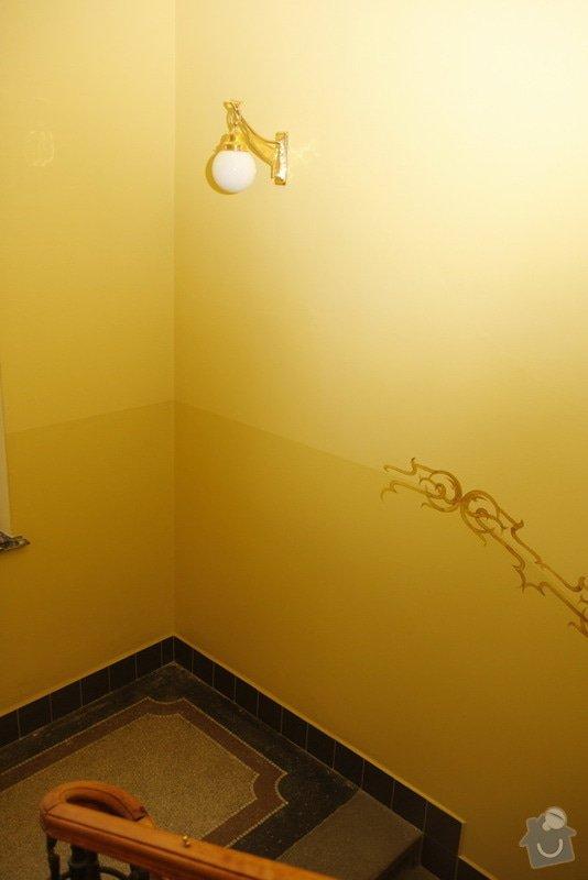 Výmalba a renovace zábradlí ve společných prostorách domu: _MG_7600