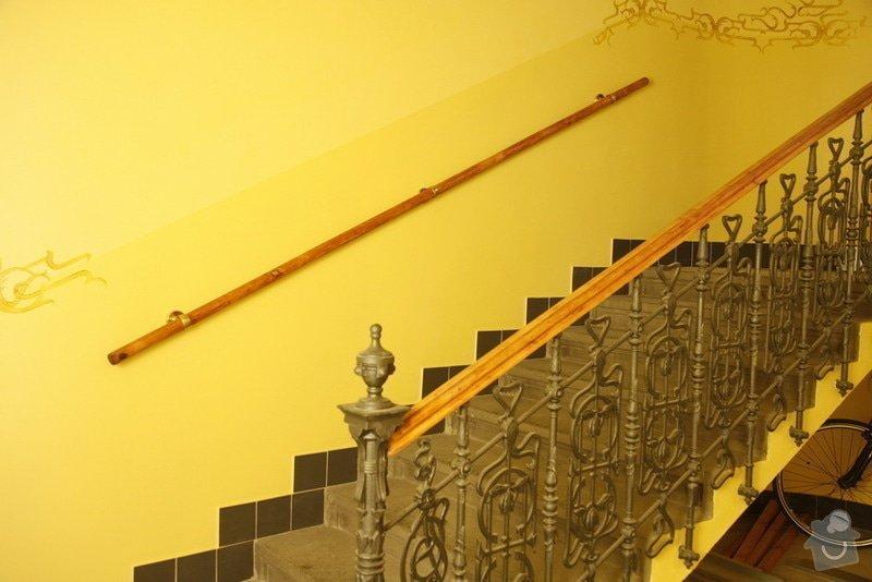 Výmalba a renovace zábradlí ve společných prostorách domu: _MG_7608
