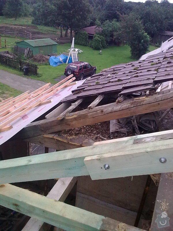Rekonstrukce střechy a podlahové topení: StudankaRek_6_