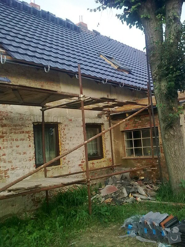 Rekonstrukce střechy a podlahové topení: StudankaRek_9_