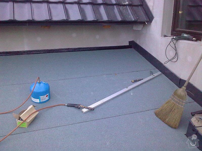 Rekonstrukce střechy a podlahové topení: StudankaRek_27_