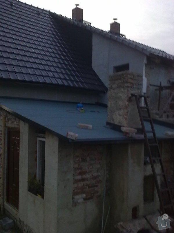 Rekonstrukce střechy a podlahové topení: StudankaRek_31_