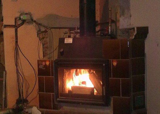 Rekonstrukce střechy a podlahové topení
