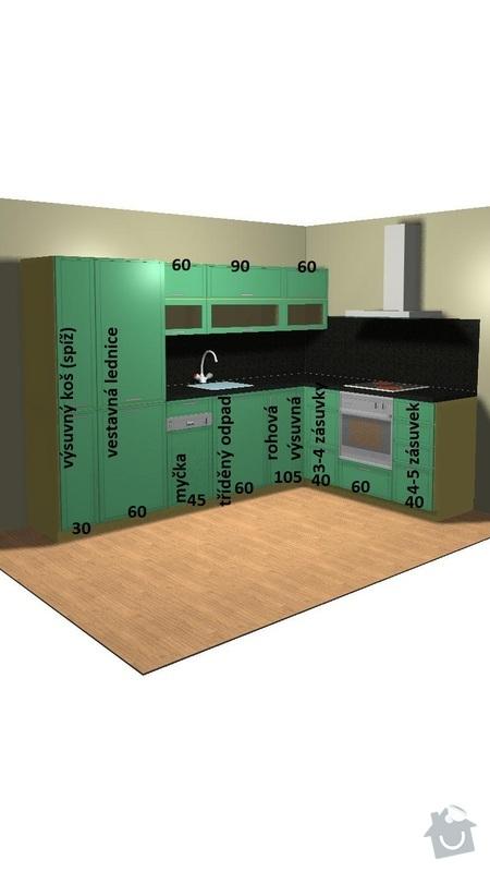 Kuchyně: kuchyne-vizualizace