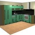 Kuchyne kuchyne vizualizace