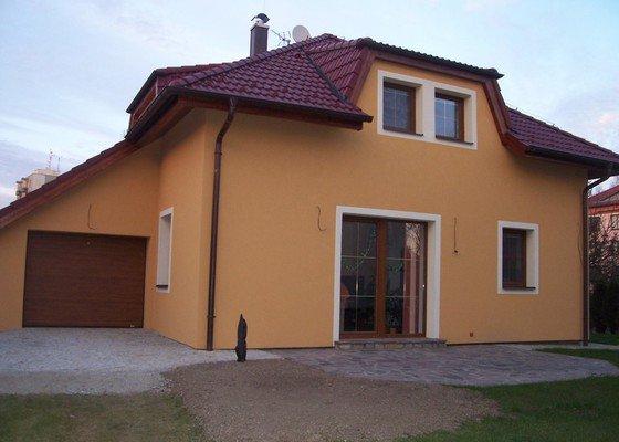 Zateplení třech rodinných domů