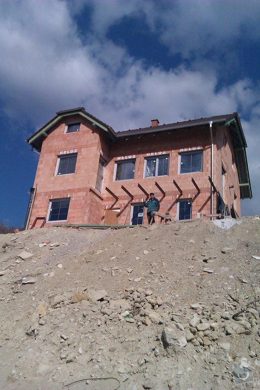 Výstavba opěrných zdí: Libechov