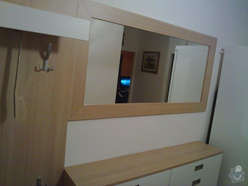Výroba stěny a botníku v předsíni panelového bytu: 003