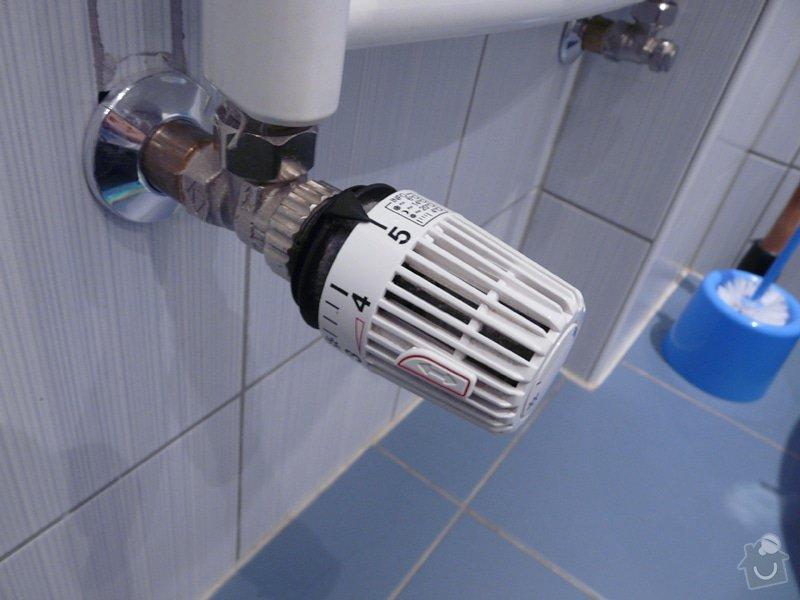 Výměnna regulačních ventilů na vodním topení: novy_termoregulacni_ventil