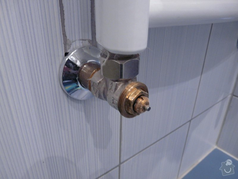 Výměnna regulačních ventilů na vodním topení: novy_ventil_-_pozadovano