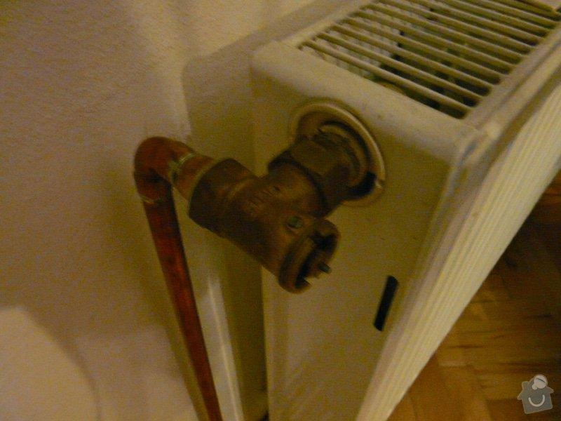 Výměnna regulačních ventilů na vodním topení: stary_ventil_-_vymena