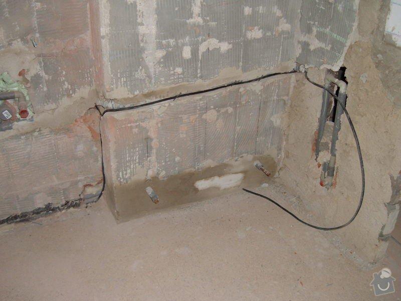 Obkladačské práce - koupelna: DSCF2395