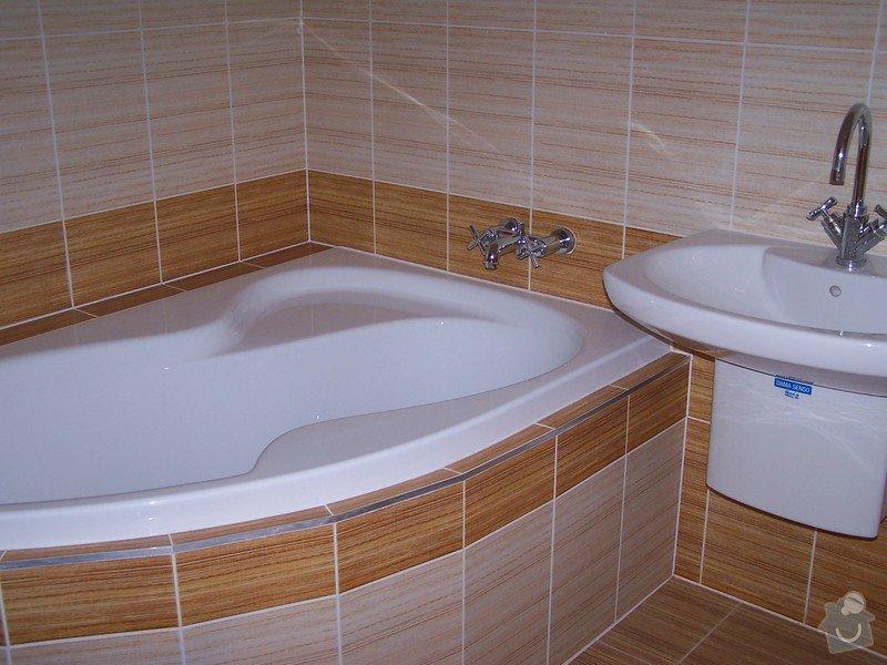 Rekonstrukce koupelny: 374