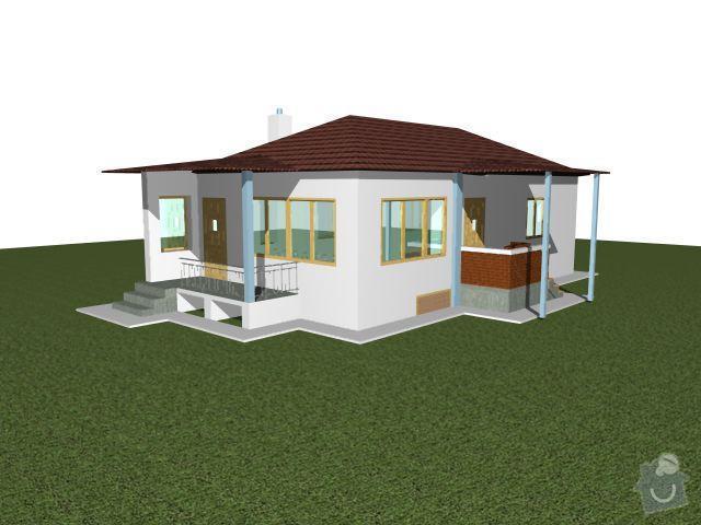 Montáž a dodávka valbové střechy s příslušenstvím: travnik2