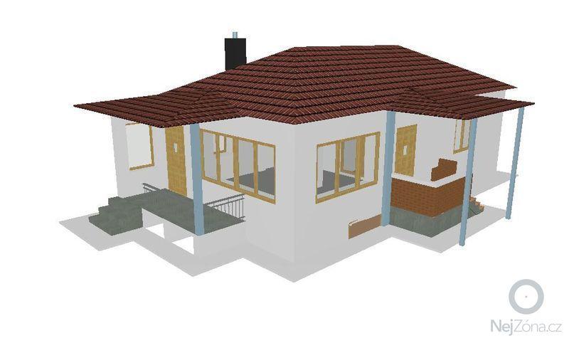 Montáž a dodávka valbové střechy s příslušenstvím: JV