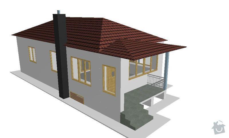 Montáž a dodávka valbové střechy s příslušenstvím: JZ