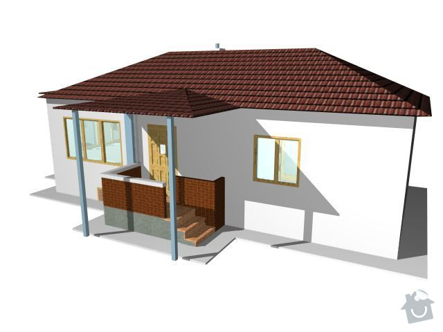 Montáž a dodávka valbové střechy s příslušenstvím: V_FOTO
