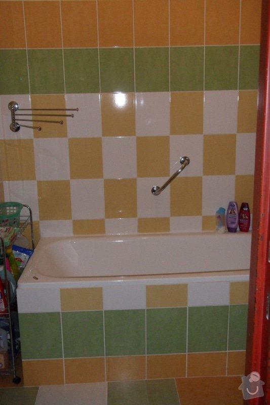 Obkladačské práce (koupelna, WC, obložení stěny za kuchyňskou linkou a dřezem): SAM_0741