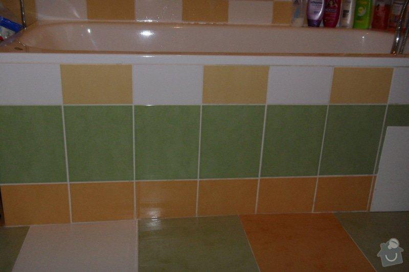 Obkladačské práce (koupelna, WC, obložení stěny za kuchyňskou linkou a dřezem): SAM_0743
