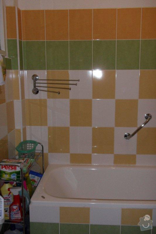 Obkladačské práce (koupelna, WC, obložení stěny za kuchyňskou linkou a dřezem): SAM_0746