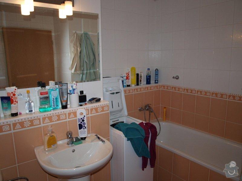 Obklad koupelny a odstranění dlaždic: K2