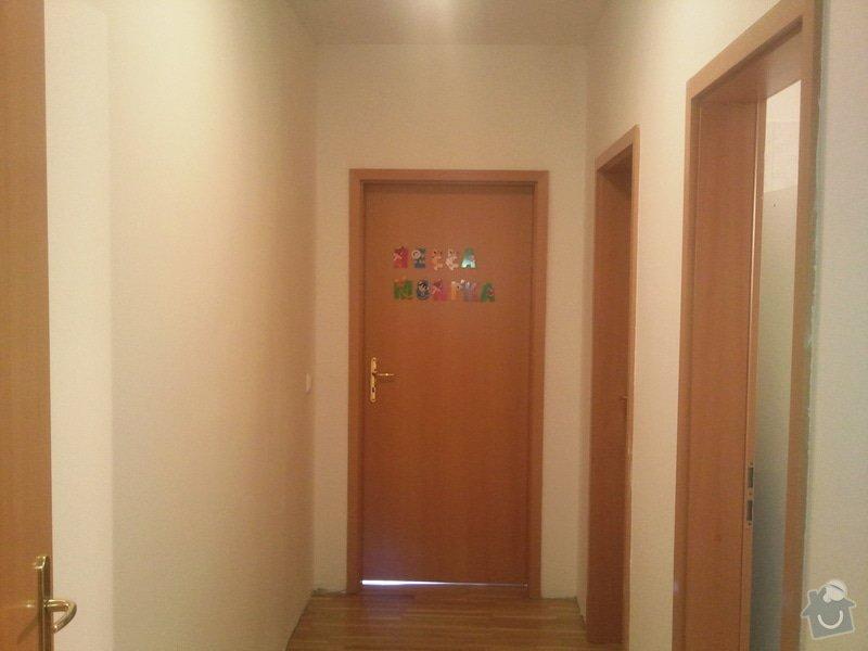 Renovace omítek a stropů+malování na bílo chodba+koupelna+wc: Fotografie214