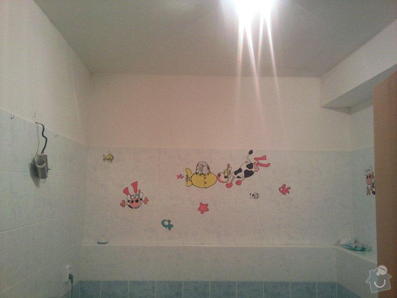 Renovace omítek a stropů+malování na bílo chodba+koupelna+wc: Fotografie216