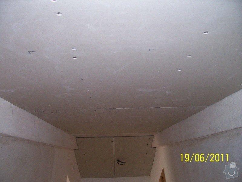 Sádrokartonářské obklady-stropy, stěny, podkroví, schody: 100_6031