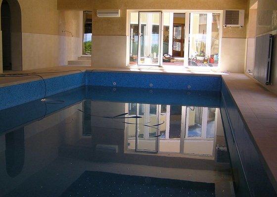 Obklad bazén