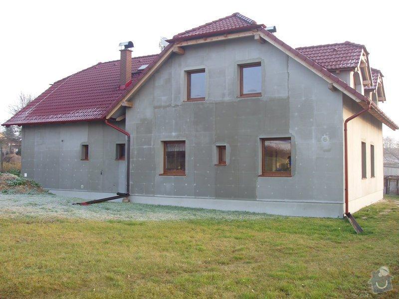 Podbití střechy na novostavbě RD cca 100m2: 169