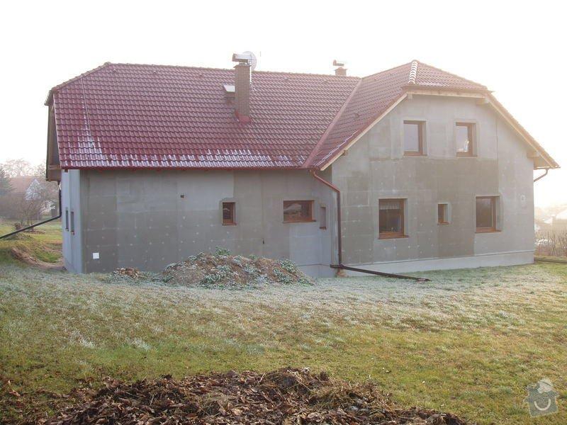 Podbití střechy na novostavbě RD cca 100m2: 170