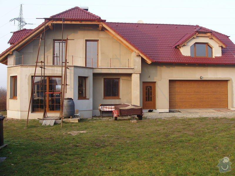 Podbití střechy na novostavbě RD cca 100m2: 171
