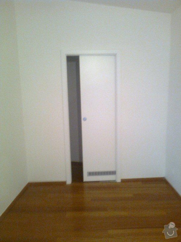 Posunutí dveří v SDK a výměna za posuvné s pouzdrem: Fotografie0089