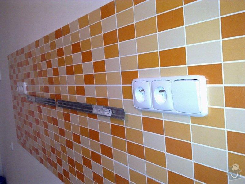 Rekonstrukce ELEKTROINSTALACE první části bytu: 006