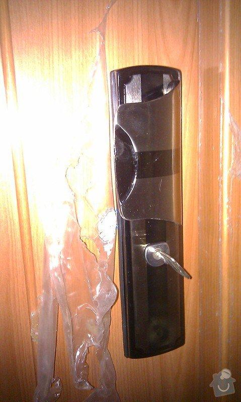 Výměna vchodových bezpečnostních dveří : IMAG1374