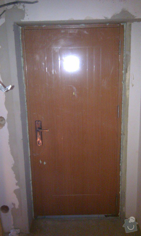 Výměna vchodových bezpečnostních dveří : IMAG1377