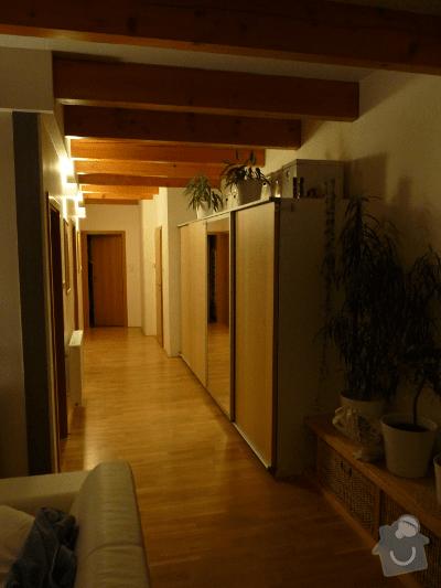 SDK příčka + posuvné dveře: P1030420