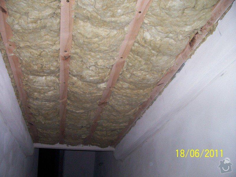 Sádrokartonářské obklady-stropy, stěny, podkroví, schody: 100_6019