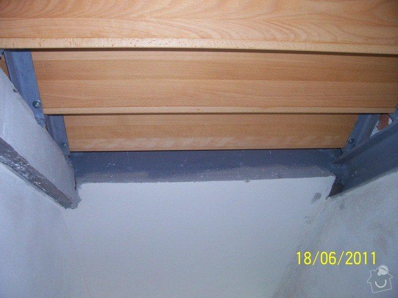 Sádrokartonářské obklady-stropy, stěny, podkroví, schody: 100_6004