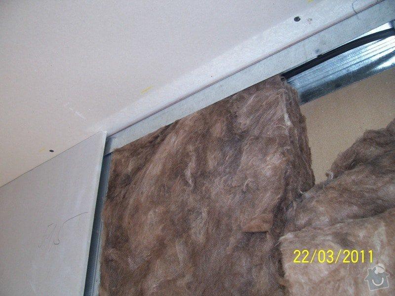 Sádrokartonářské obklady-stropy, stěny, podkroví, schody: 100_5438