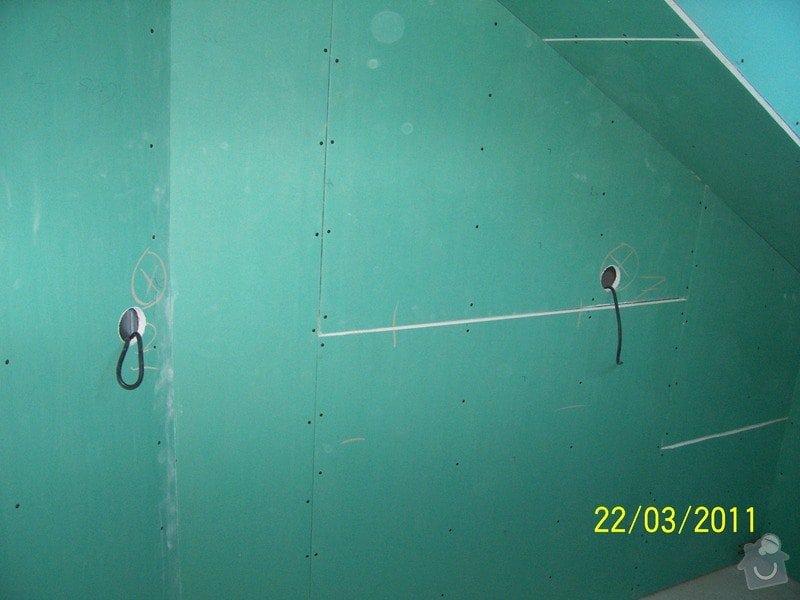 Sádrokartonářské obklady-stropy, stěny, podkroví, schody: 100_5461