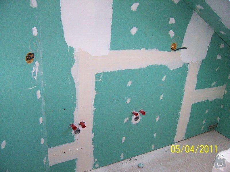 Sádrokartonářské obklady-stropy, stěny, podkroví, schody: 100_5526