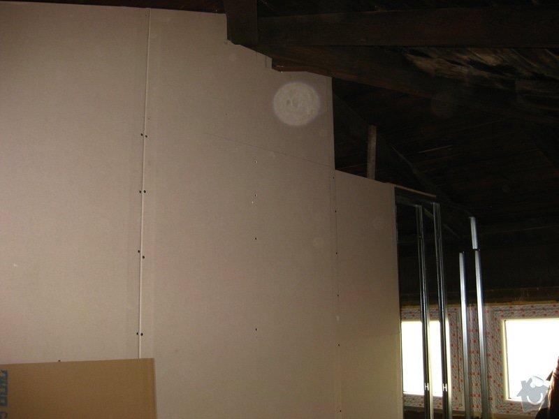Stavba půdního pokojíku: IMG_2885