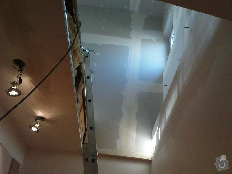 Stavba půdního pokojíku: DSC00009