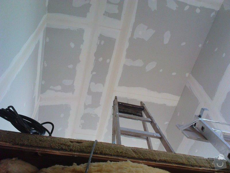 Stavba půdního pokojíku: DSC00209