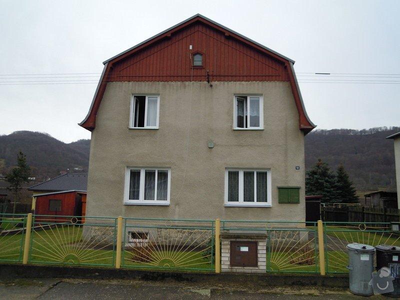 Zhotovení fasády rodinného domu.: DSCN0445