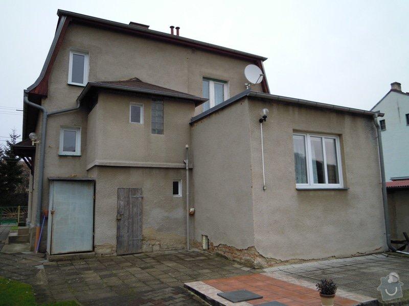 Zhotovení fasády rodinného domu.: DSCN0442