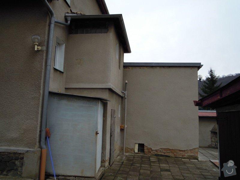 Zhotovení fasády rodinného domu.: DSCN0447