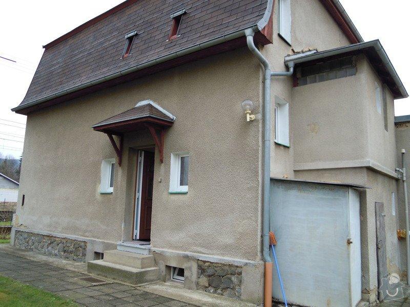 Zhotovení fasády rodinného domu.: DSCN0443