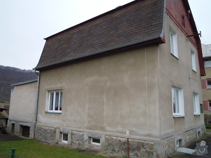 Zhotovení fasády rodinného domu.: DSCN0446